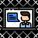 Wfh Coaching Online Meeting Icon
