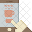 Online coffee order Icon