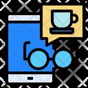 Phone Smartphone Coffee Icon