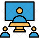 Online collaboration Icon