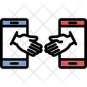 Online Collaboration Icon