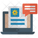 Online Communication Online Chatting Social Media Icon