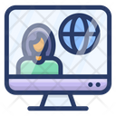 Online Communication Icon