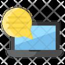 Online Communication Icon