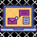 Online Communication Communication Computer Icon
