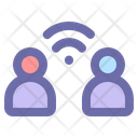 Online Communication Collaboration Internet Icon