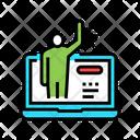 Online Communication Client Icon