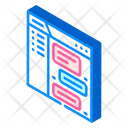 Online Communication Colleagues Icon