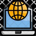 Online Communication Online Chat Online Conversation Icon