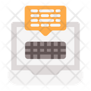Online Comunication Icon