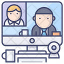Online Conference Icon