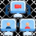 Online Conference Video Conference Conference Icon