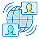 Online Conference Online Meeting Meeting Icon