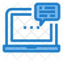 Online Connection Learning Online Message Icon