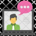 Online Consultant Internet Icon