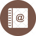 Online contact book Icon
