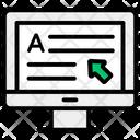 Online Content Icon