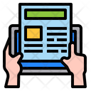 Blog Online Technology Icon