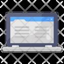 Online Content Online Article Online Blog Icon