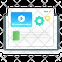 Online Content Video Content Media Content Icon
