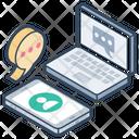 Online Conversation Icon