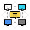 Network Computer Users Icon
