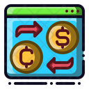 Convert Currency Money Icon