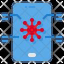 Online Coronavirus News Icon