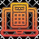 Calculator Count Laptop Icon