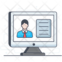 Online Course Online Learning Elearning Icon