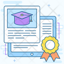 Online Course Online Learning Online Education Icon