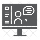 Online Course Distance Icon