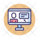 Online Course Course Learning Icon