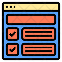Course Online Digital Learning Icon