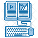 Online Courses Knowledge Icon