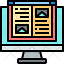 Online Creative And Learning Icon