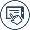 Online Donation Hand Icon
