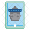Online Cruise Online Ship Cruise Icon
