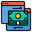 Online Currency Exchange Icon