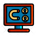 Online Customer Attrction Icon
