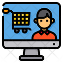 Online Customer Order Icon