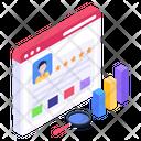 Online Customer Reviews Web Feedback Web Reviews Icon