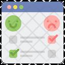 Satisfaction Survey Icon