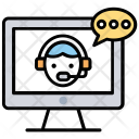 Online Consulting Customer Icon
