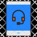 Customer Service Headphone Help Icon