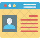 Online cv Icon