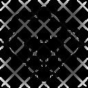 Online Cyberspace Digital Highway International Cyberspace Icon