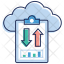 Online Data Data Transfer Data Sharing Icon
