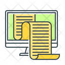 Data Information Monitor Icon