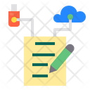 Data Storage Technology Icon